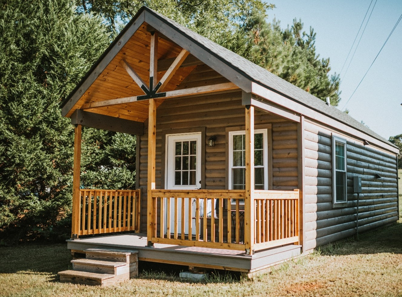 log rental cabin investment