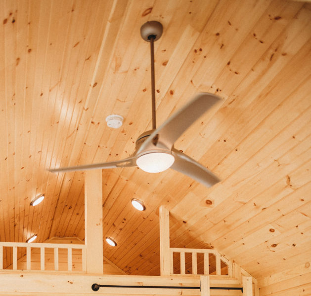 modular cabin ceiling fan