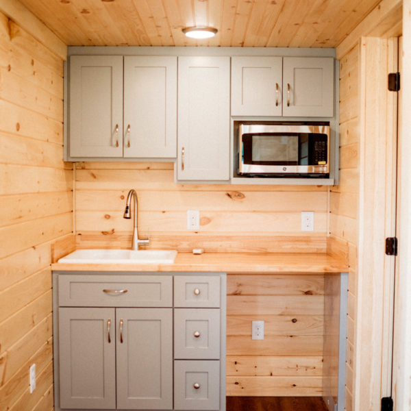 Pre Built Cabins Kitchen SC
